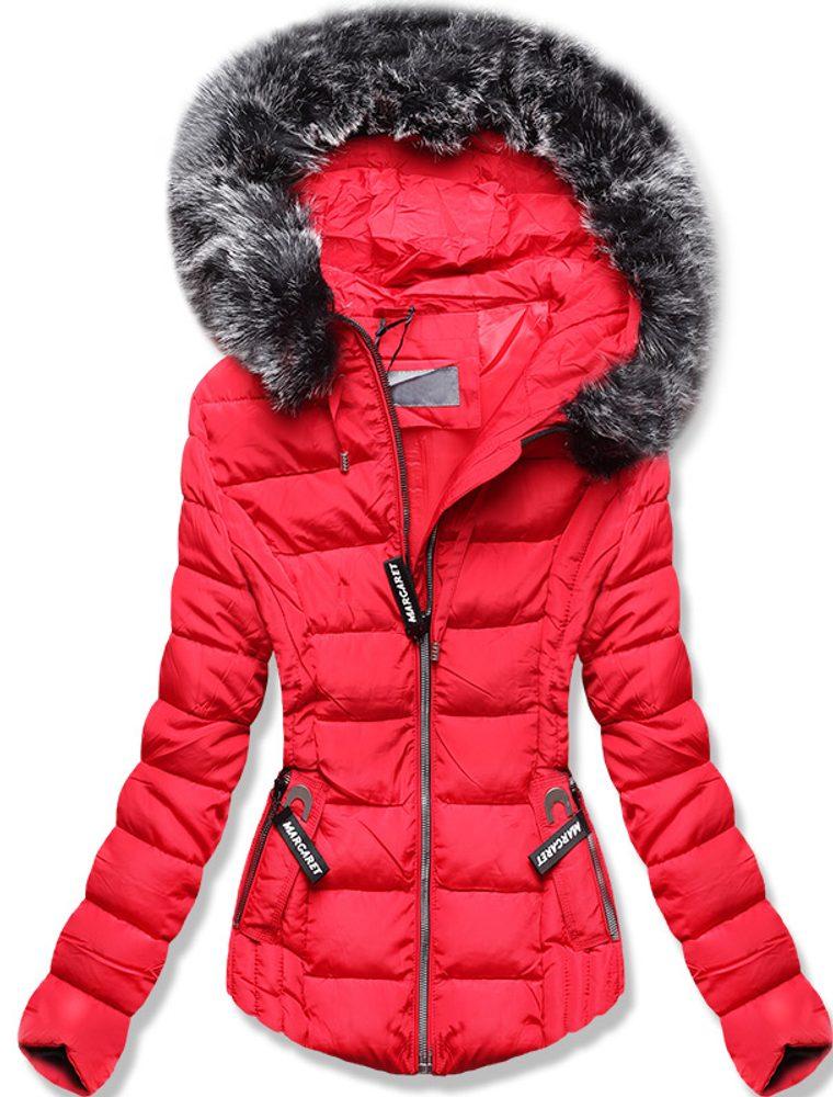 MODOVO Zimná prešívaná bunda červená - M