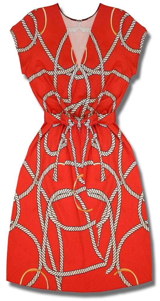 MODOVO Dámske šaty červené