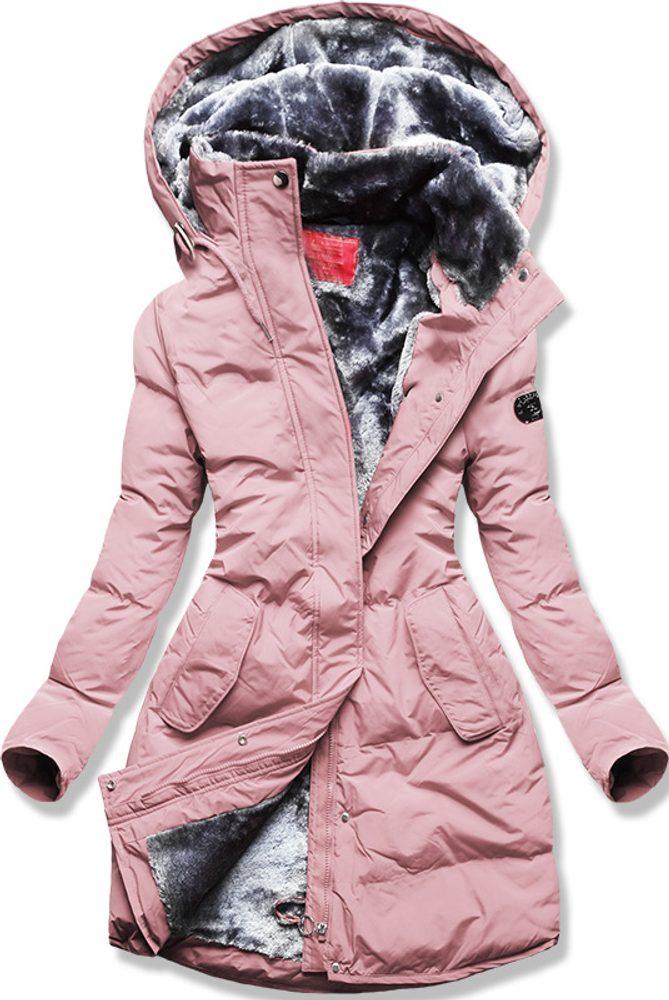 MODOVO Dámska zimná bunda ružová