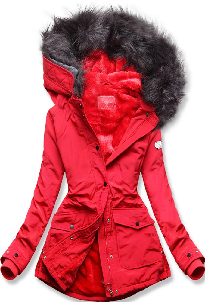 MODOVO Zimná bunda červená - L