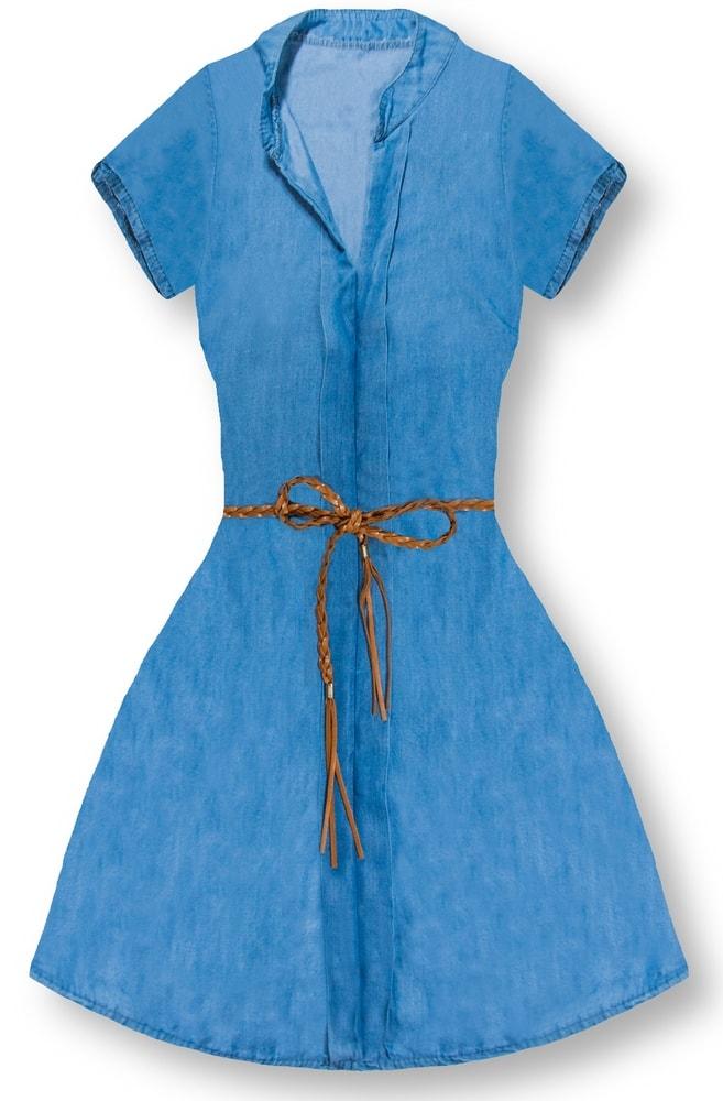 MODOVO Dámske šaty 4595 tmavo modré