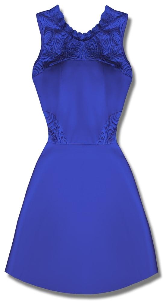 MODOVO Elegantné dámske šaty modré