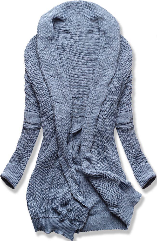 MODOVO Dámsky sveter modrý