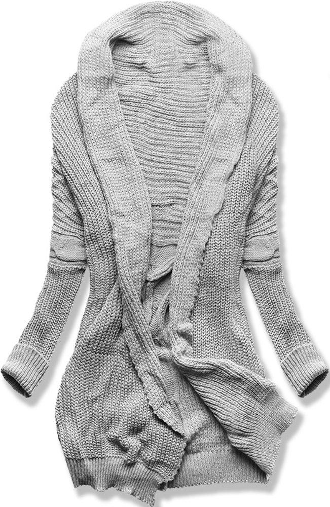 MODOVO Dámsky sveter sivý