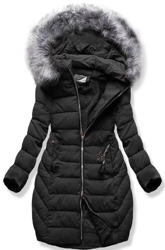MODOVO Dámska zimná bunda B2645 čierna