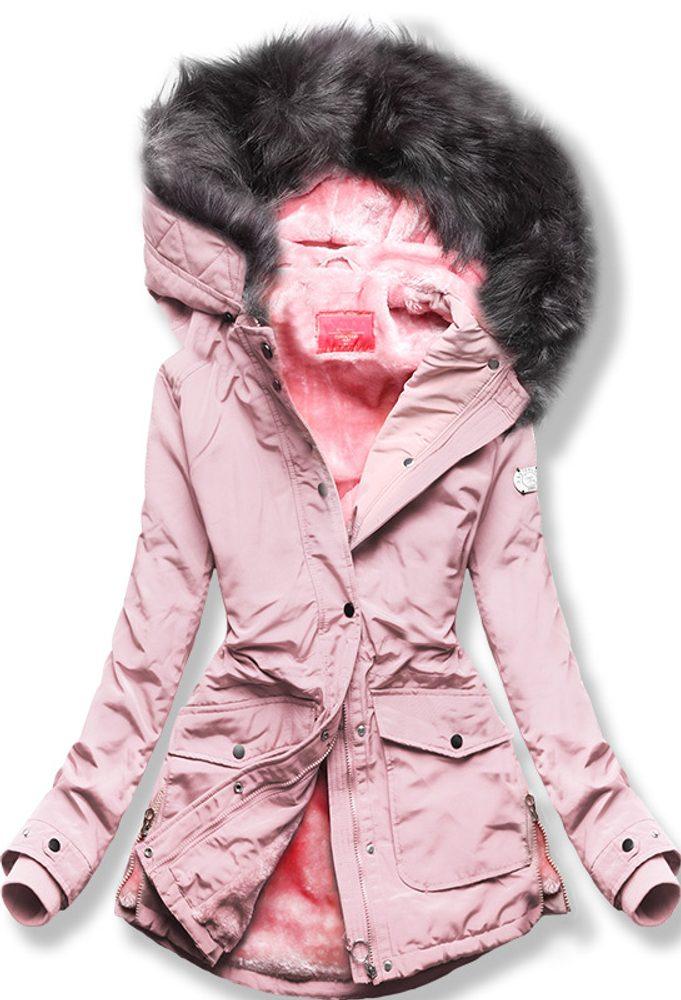 MODOVO Zimná bunda ružová