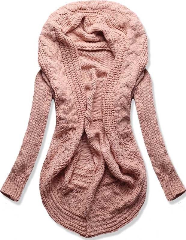 MODOVO Dámsky sveter MODA03N ružový