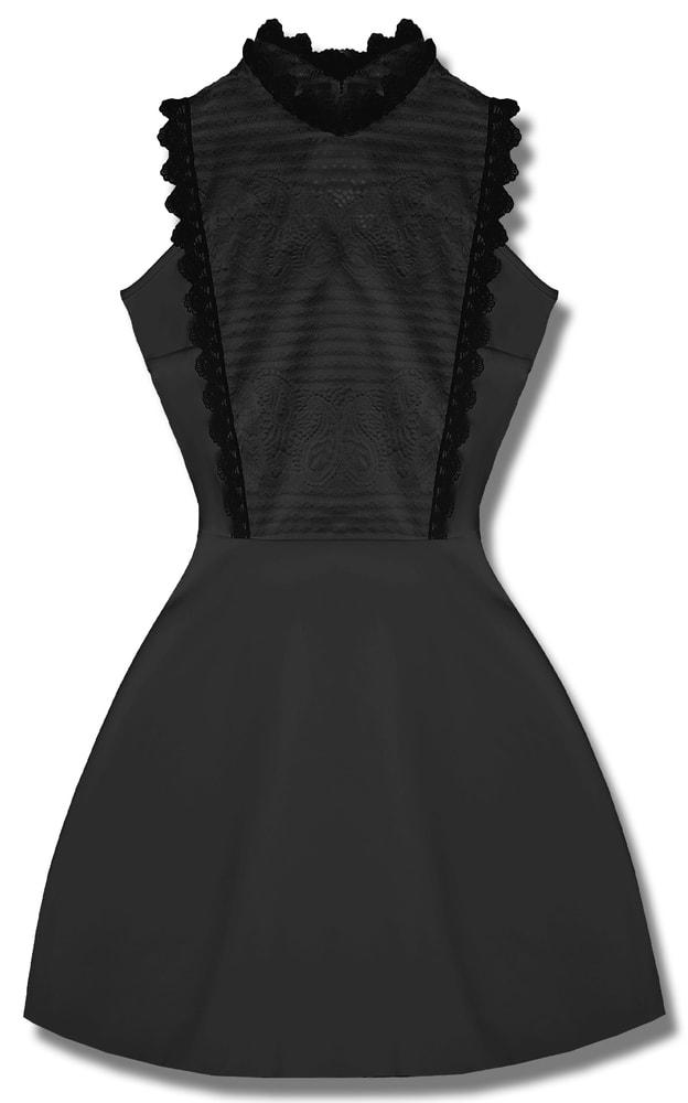 MODOVO Elegantné dámske šaty čierne