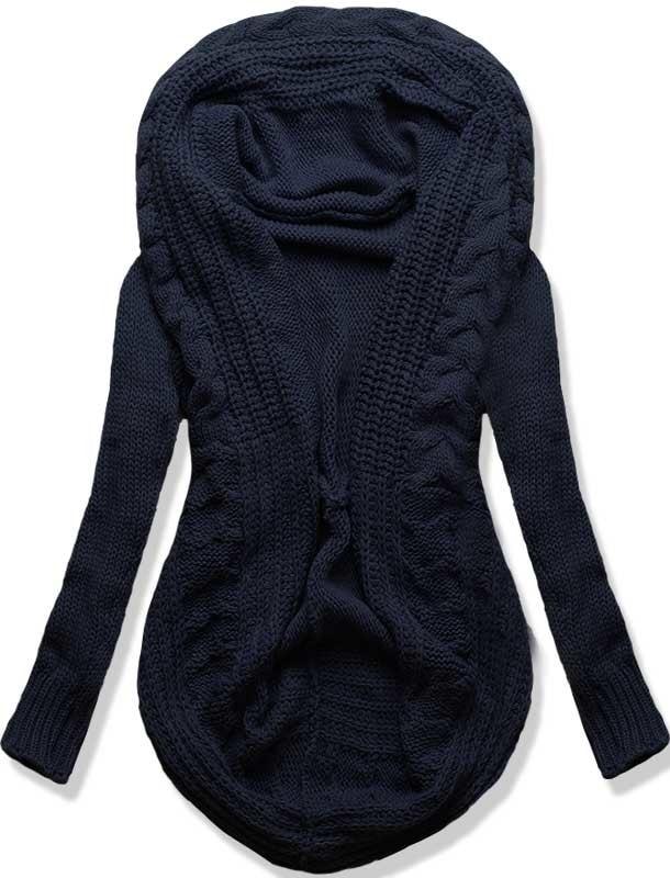 MODOVO Dámsky sveter SWPZ modrý