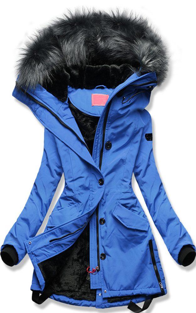 MODOVO Dámska zimná bunda modrá - XXL
