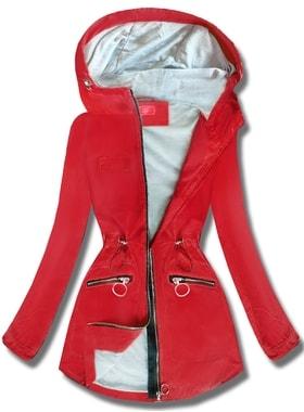 1ce602c60b Kabát QL-245 piros Kabát QL-245 piros Női átmeneti kabát kapucnival QL-245…  Női átmeneti kabát kapucnival QL… Női átmeneti kabát kapucnival QL-245 piros