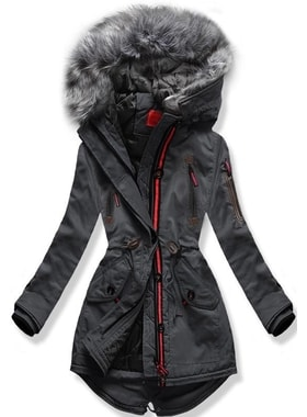c16e8743e Bunda PO-301 grafitová Bunda PO-301 grafitová Dámska zimná bunda s kapucňou  PO-301… Dámska zimná bunda s kapucňou PO… Dámska zimná bunda s kapucňou  PO-301 ...