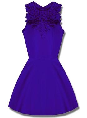 52372514ce94 Elegantné dámske šaty modré