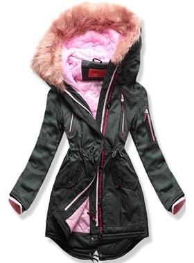 2ece5831c Bunda PO-301 khaki Bunda PO-301 khaki Dámska zimná bunda s kapucňou PO-301…  Dámska zimná bunda s kapucňou PO… Dámska zimná bunda s kapucňou PO-301 khaki