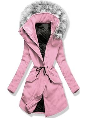 ef94614f3c Kabát 22172 pudrový Kabát 22172 pudrový Dlouhý dámský kabát s kapucí 22172…  Dlouhý dámský kabát s kapucí 22172… Dlouhý dámský kabát s kapucí 22172  pudrový