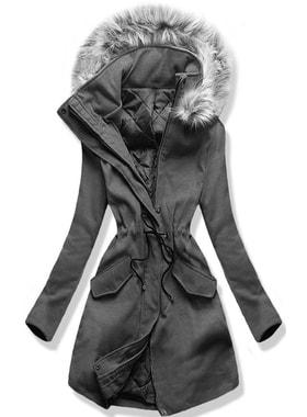 c41d2087be Kabát 22172 grafitový Kabát 22172 grafitový Dlhý dámsky kabát s kapucňou  22172… Dlhý dámsky kabát s kapucňou 22172… Dlhý dámsky kabát s kapucňou  22172 ...