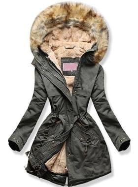 d4402a9599 Kabát W166-1 khaki Kabát W166-1 khaki Női téli kabát kapucnival W166-1  khaki Női téli kabát kapucnival W166-1… Női téli kabát kapucnival W166-1  khaki