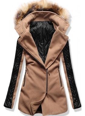 6d6955c98f Kabát 6710 hnědý Kabát 6710 hnědý Dlouhý dámský kabát s kapucí 6710 hnědý  Dlouhý dámský kabát s kapucí 6710… Dlouhý dámský kabát s kapucí 6710 hnědý