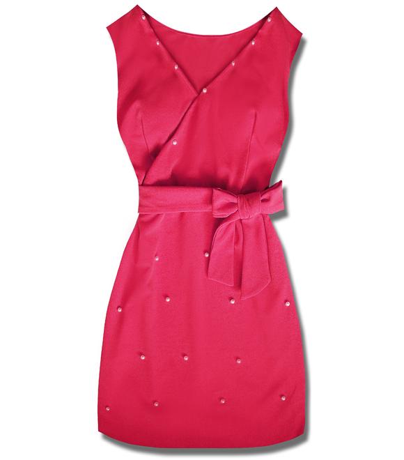 86fc9e1363df Elegantné dámske šaty 8513 ružové - Šaty - MODOVO