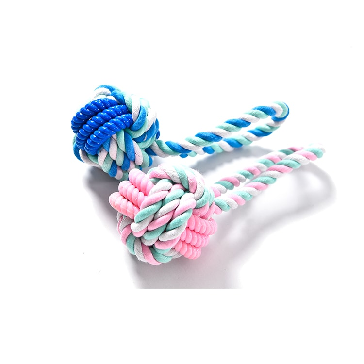 dog rope toy with TPR