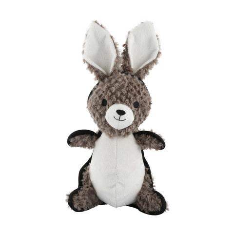 Tough Plush Rabbit Pet Toy