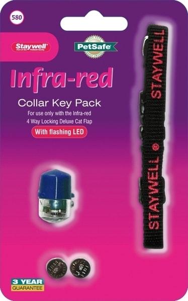 Infra Red kľúč, 580 modré - zelená