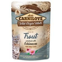 Kapsička CARNILOVE Cat Rich in Trout enriched with Echinacea 85g