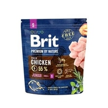 Brit Premium Dog by Nature Junior S 1kg