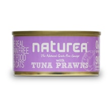Naturea GF cat vlhké - Tuna, Prawns 80g