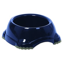 Futternapf DOG FANTASY Kunststoff Anti-Rutsch blau 20 cm 735ml