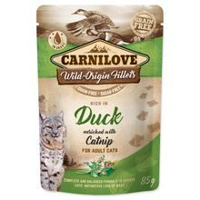 Kapsička CARNILOVE Cat Rich in Duck enriched with Catnip 85g