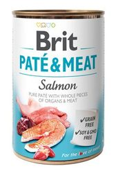 Brit Dog konz Paté & Meat Salmon 400g