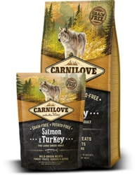 Carnilove Dog Salmon & Turkey for Large Breed Adult