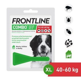 Frontline Combo Spot-on Dog XL (4,02ml) nad 40kg exp 09/2020 sleva 30%