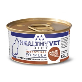 HEALTHYVET DIET cat Intestinal 85 g sleva 20% exp 22/09/2020