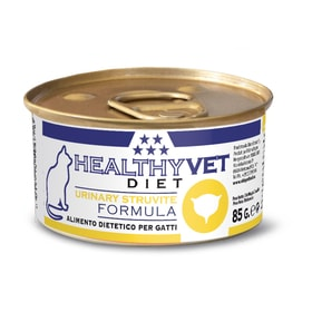 HEALTHYVET DIET cat Urinary Struvite 85 g sleva 45% exp 04/08/2020