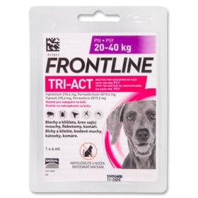 Frontline TRI-ACT spot-on pro psy L (1x4ml) 20-40kg