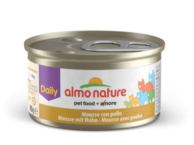 Almo Nature Daily Menu WET CAT - Pěna s kuřetem 85g