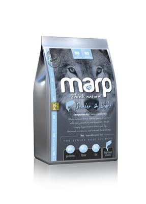 Marp Natural Senior and Light - s bílou rybou 12kg