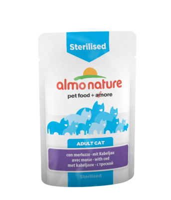 Almo Nature Functional WET - Sterilised Treska 70g