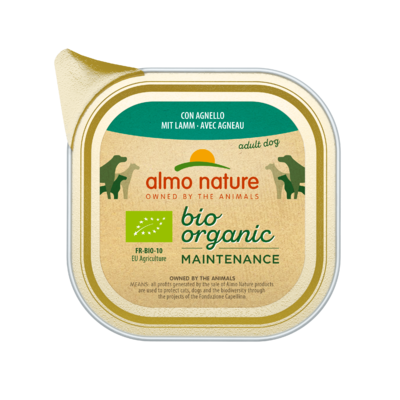 Almo Nature Daily Menu Bio WET DOG - s jehněčím 100g