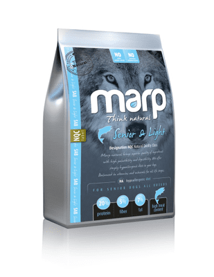 Marp Natural Senior and Light - s bílou rybou 2kg