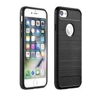 Obal / kryt na Apple iPhone 6 / 6S černý - Forcell CARBON