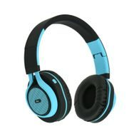Headphones Bluetooth stereo with mic AP-B04  black/blue