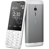 Nokia 230 white silver - single SIM