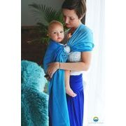 LITTLE FROG RING SLING - BLUE LAZURITE - S - LITTLE FROG /BELOVED SLINGS RING SLING - ŠÁTKY
