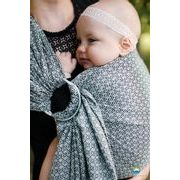 RING SLING LITTLE FROG - LOVELY SLATE - M - LITTLE FROG /BELOVED SLINGS RING SLING - ŠÁTKY