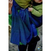 LITTLE FROG RING SLING - LOVELY DARKNESS - M - LITTLE FROG /BELOVED SLINGS RING SLING - ŠÁTKY