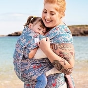 FLYTAI TODDLER SEA ANCHOR MARITIME BLUE - TODDLER SIZE - NOSÍTKA