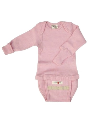 ManyMonths body/triko Soft winter rose